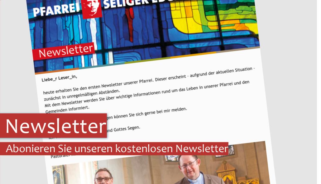 Abonieren Sie unseren Newsletter